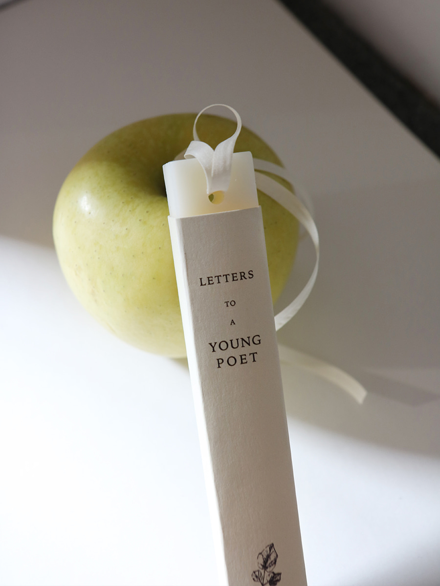 wax tablet _ letters to a young poet