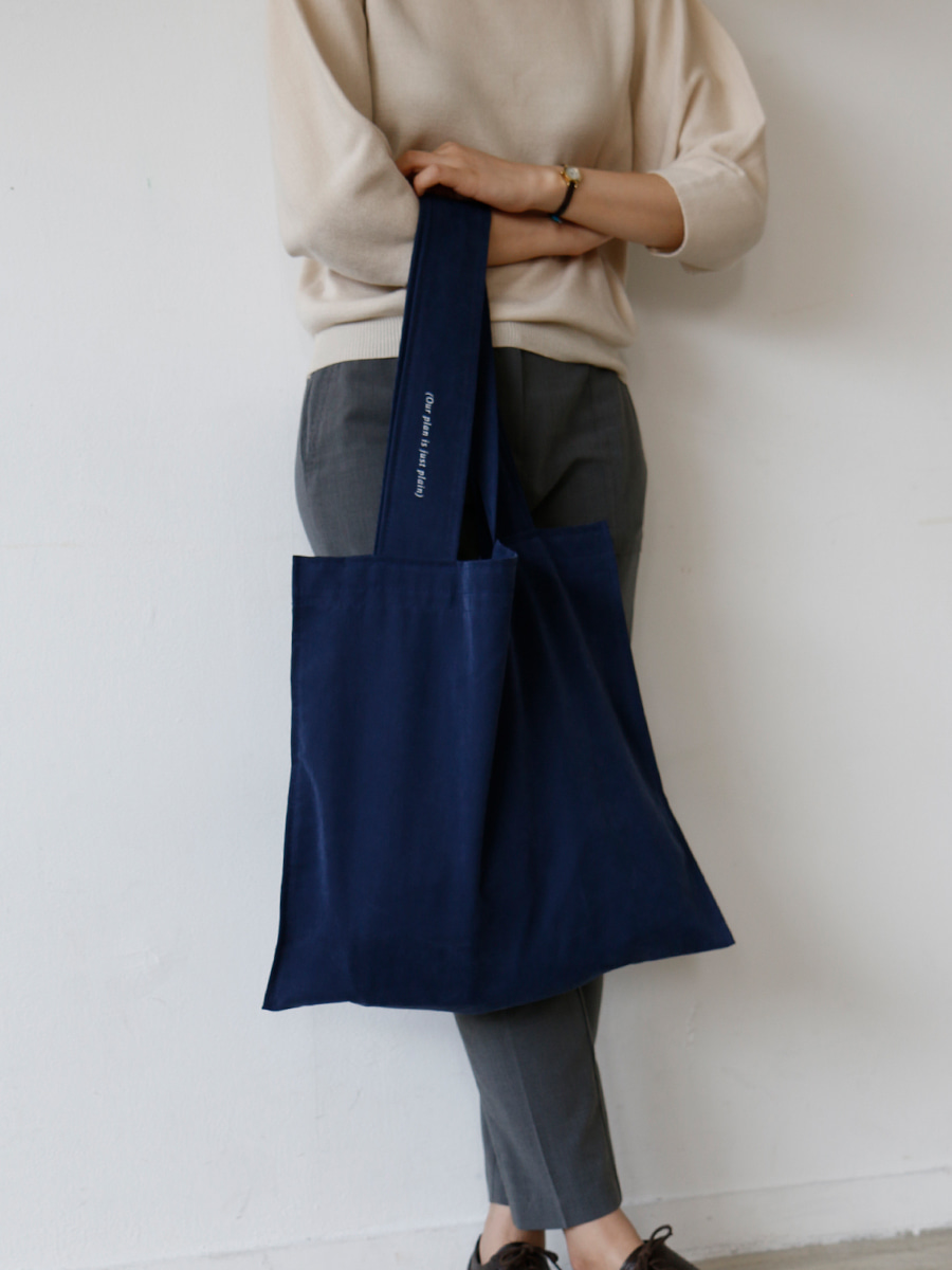plain bag _ navy