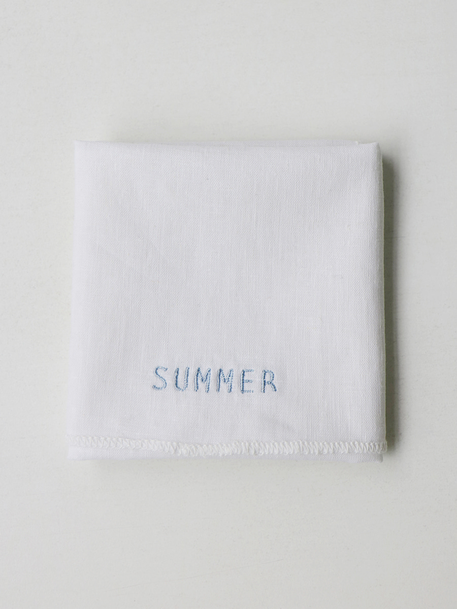 Fabric Letter_ summer
