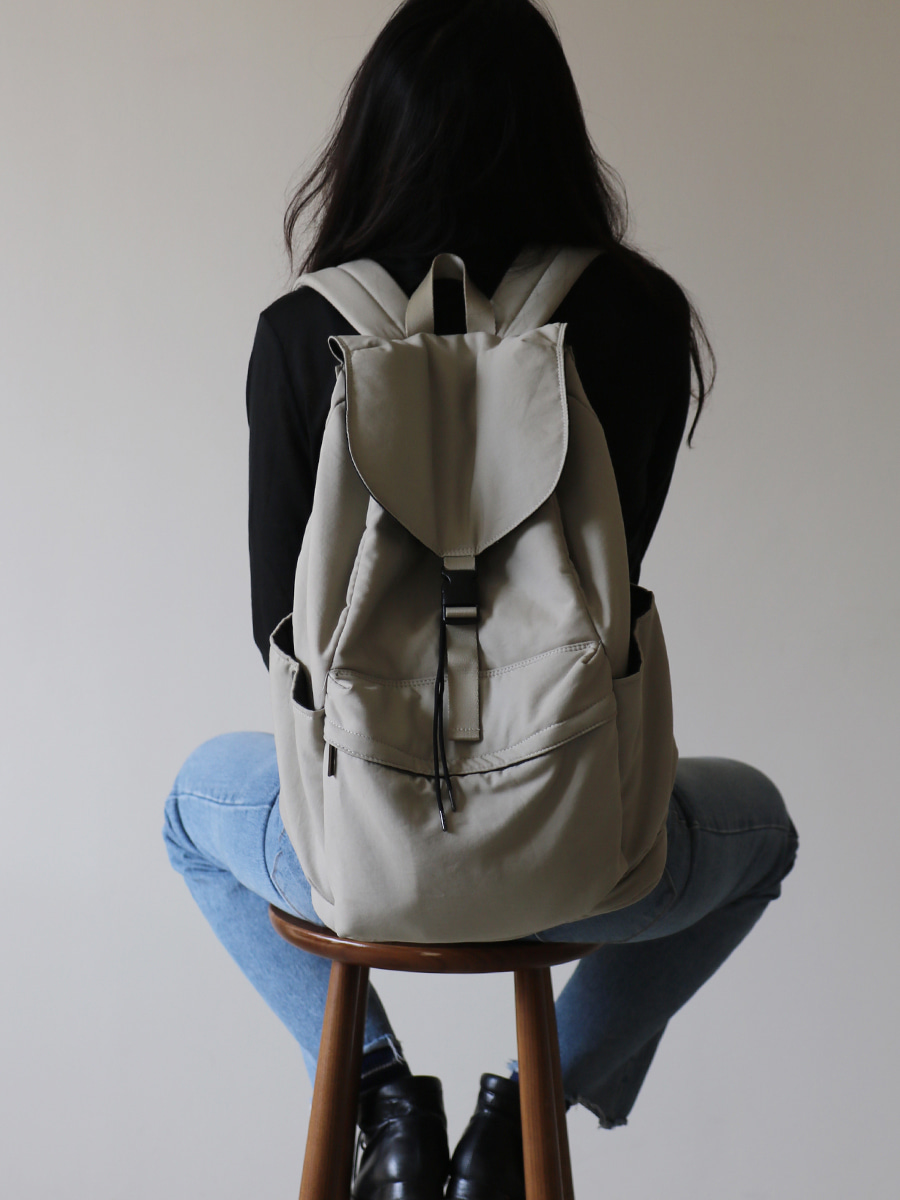 allgray backpack _ khaki beige